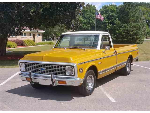 1971 Chevrolet C/K 10   1009235