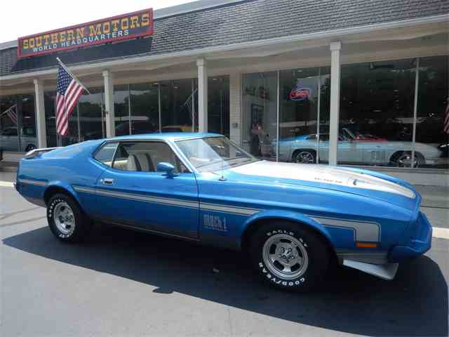 1973 Ford Mustang Mach 1 | 1009351