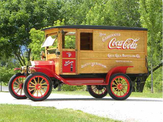 1912 Ford Model T Coca-Cola  Delivery Truck | 1009483