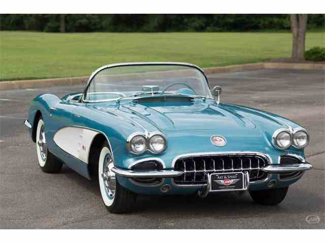 1959 Chevrolet Corvette For Sale On Classiccars Com