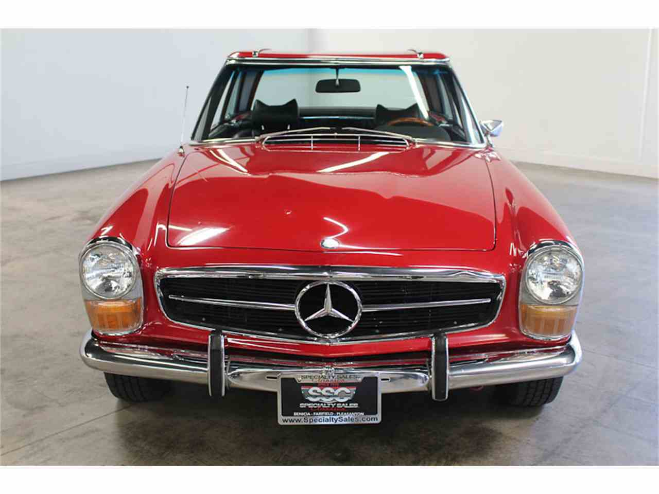 1970 mercedes benz 280sl for sale cc for Mercedes benz fairfield ca service