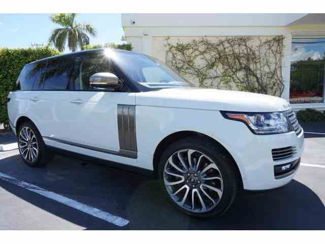 2016 Land Rover Range Rover Autobiography | 1009540