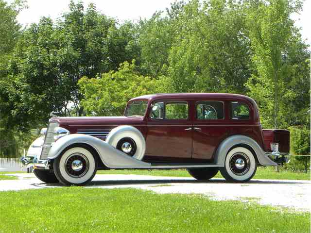 1935 Buick Series 60 Model 67 4 Door Deluxe Sedan | 1009547