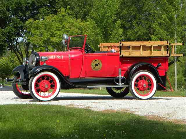 1929 Ford Model A Roadster Chief Truck | 1009554