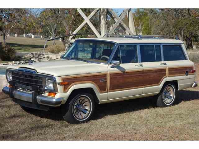 classic jeep wagoneer for sale on. Black Bedroom Furniture Sets. Home Design Ideas