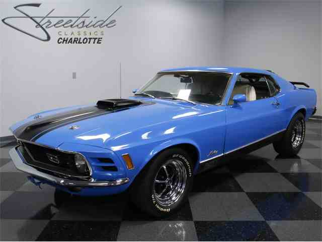 1970 Ford Mustang Mach 1 | 1009905