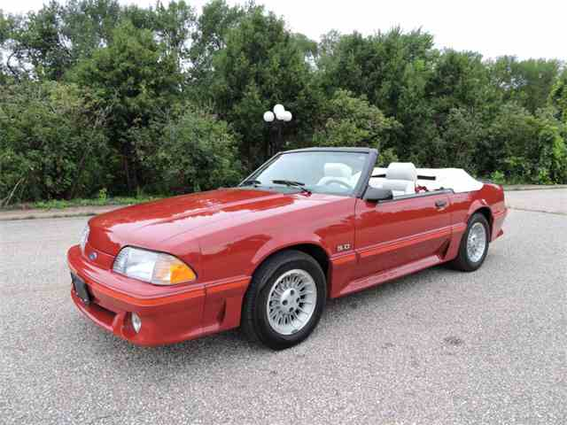 1987 Ford Mustang   1009947