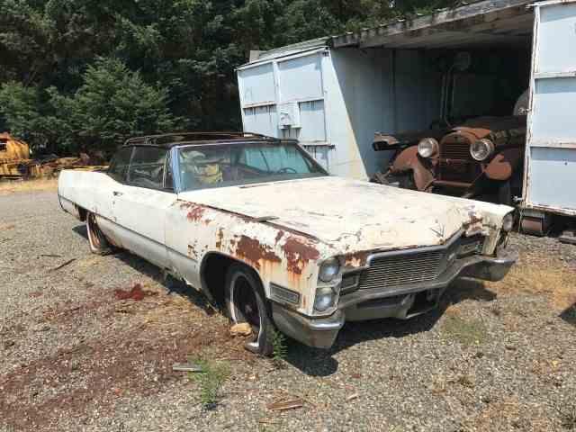 1967 Cadillac Convertible   1011026