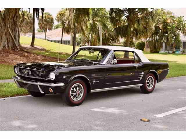 Picture of Classic '66 Mustang located in Delray Beach Florida Auction Vehicle - LNBV