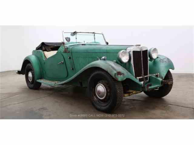 1952 MG TD | 1011110