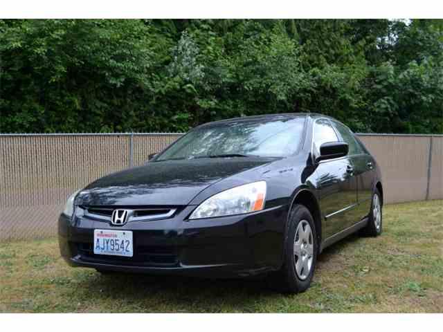 2005 Honda Accord   1011398