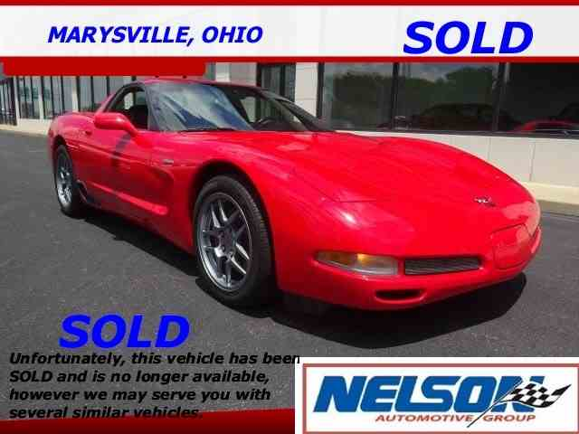 2001 Chevrolet Corvette | 1010146