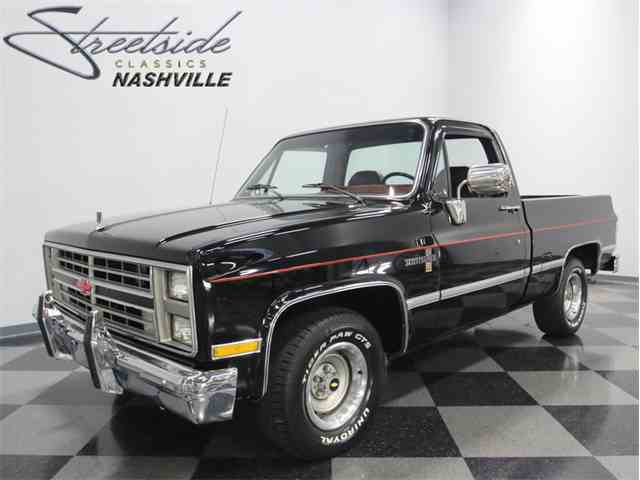 1985 chevrolet c10 for sale on. Black Bedroom Furniture Sets. Home Design Ideas