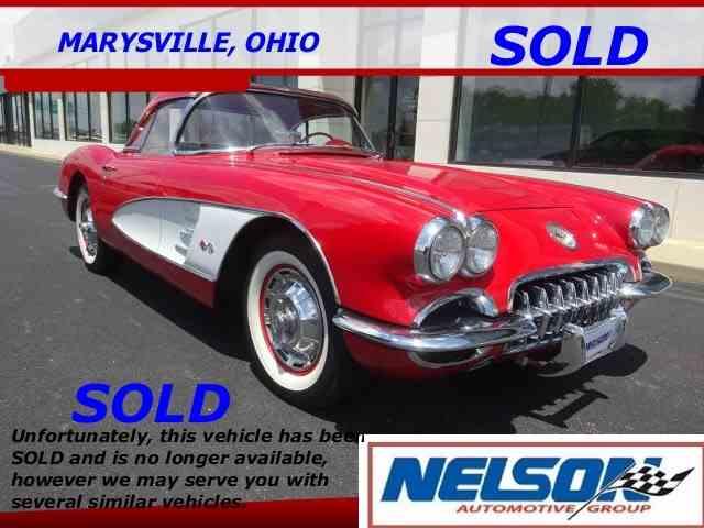 1960 Chevrolet Corvette   1010147