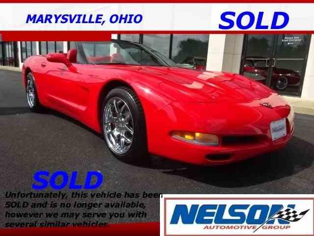 2002 Chevrolet Corvette | 1010149