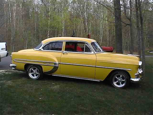 1953 Chevrolet Bel Air For Sale On Classiccars Com