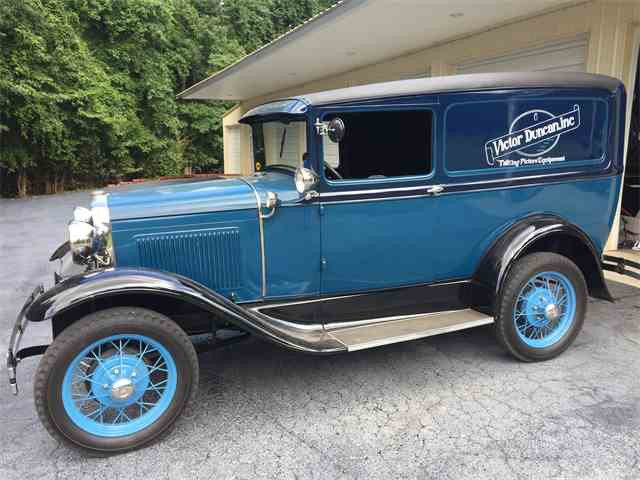 "1930 Ford Model ""A"" Deluxe Delivery 