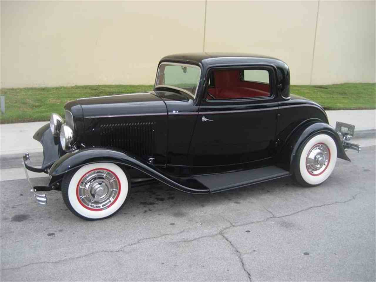 1932 ford 3 window coupe for sale cc 1011858. Black Bedroom Furniture Sets. Home Design Ideas