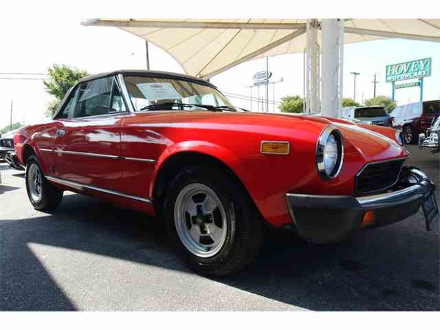 1981 Fiat Spider | 1011874