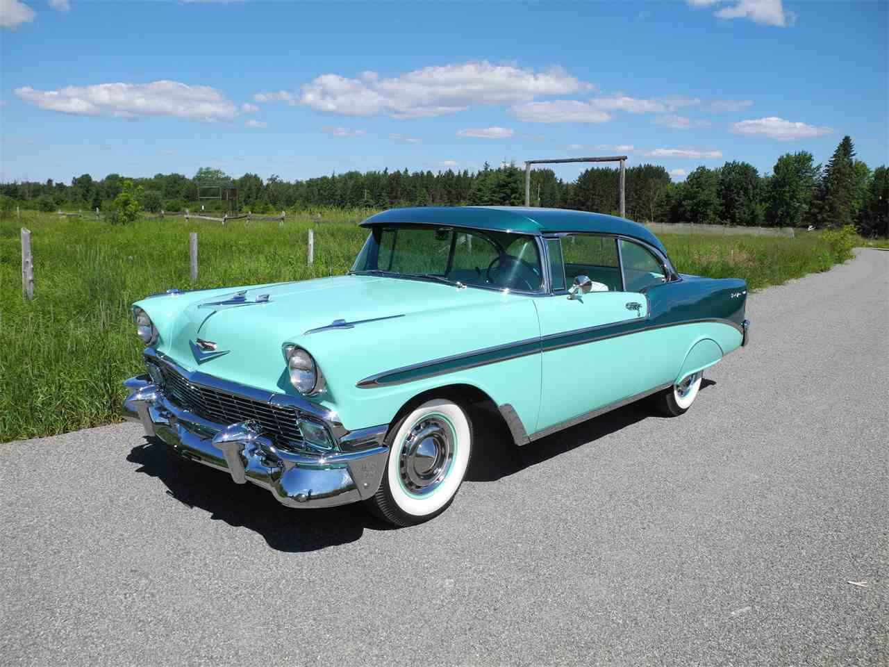 1956 chevrolet bel air for sale classic car liquidators - 1956 Chevrolet Bel Air For Sale Cc 1011968