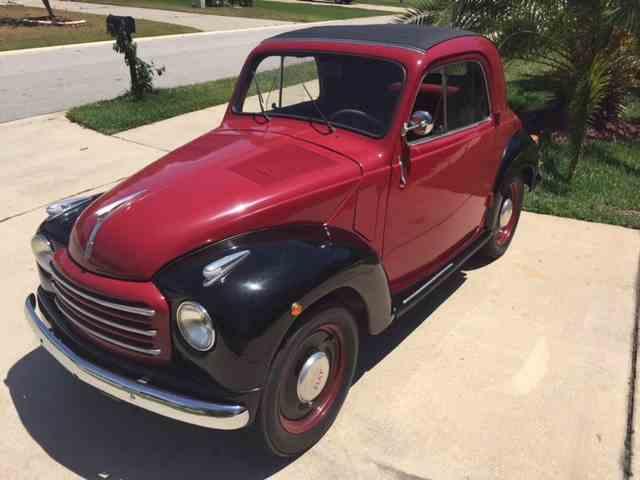 1954 Fiat Topolino Convertible   1012049