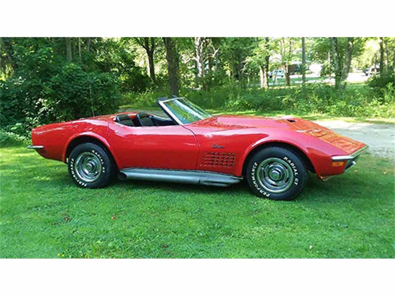 Corvette 1970 chevrolet corvette stingray : 1970 Chevrolet Corvette Stingray Convertible for Sale ...