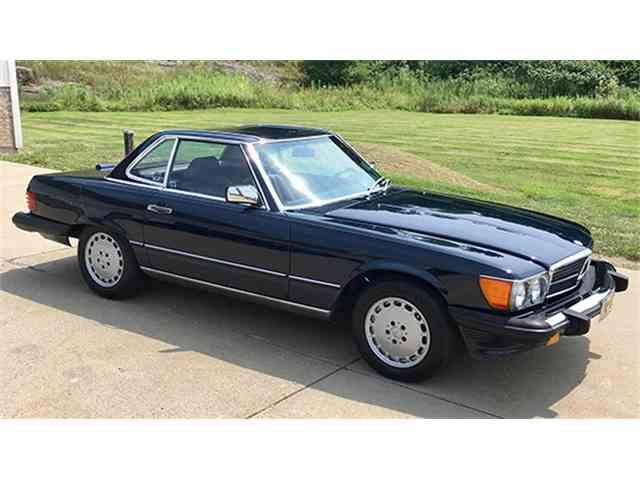1988 Mercedes-Benz 560SL   1012106