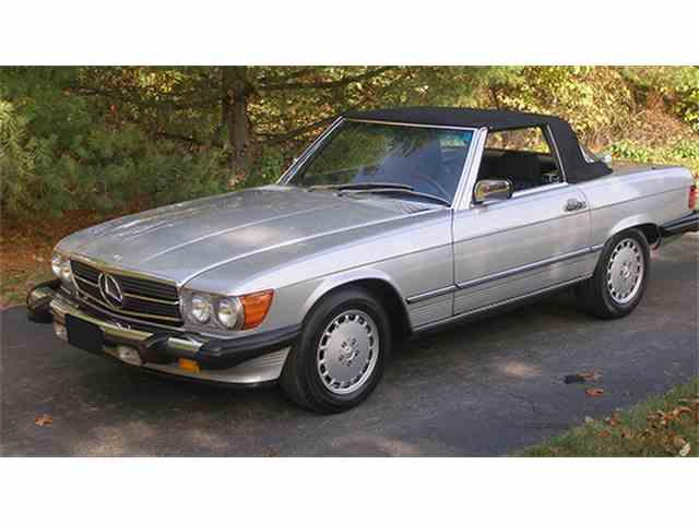 1989 Mercedes-Benz 560SL   1012120