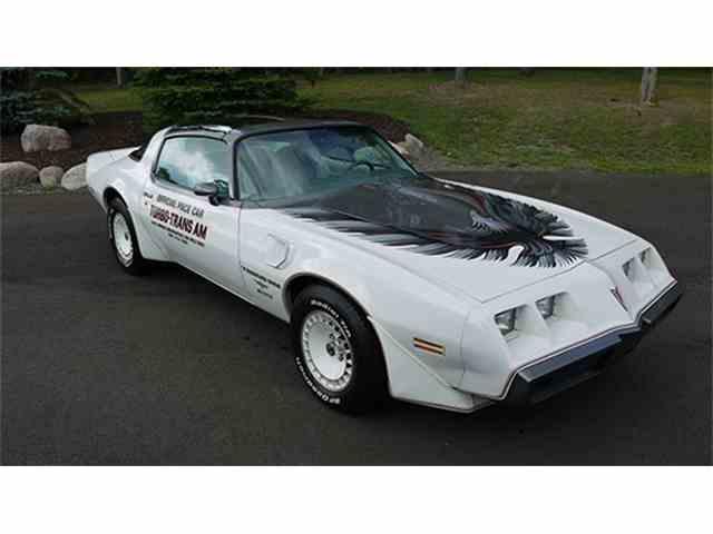 1980 Pontiac Firebird Trans Am Turbo Indianapolis 500 Pace Car | 1012152