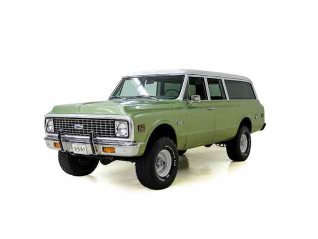 1972 Chevrolet Suburban   1012216