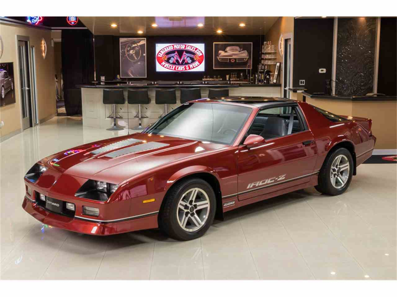 1986 chevrolet camaro iroc z28 for sale cc 1012248. Black Bedroom Furniture Sets. Home Design Ideas