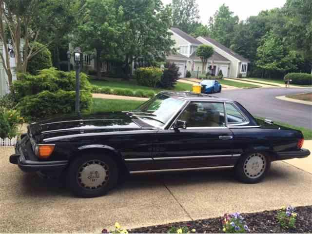 1987 Mercedes-Benz 560SL   1012333