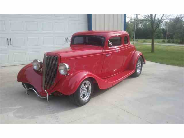 1934 Ford 5-Window Coupe | 1010246