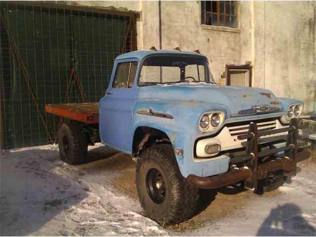1958 Chevrolet Flatbed | 1012492