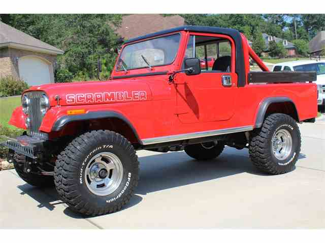 1982 Jeep CJ8 Scrambler | 1012496