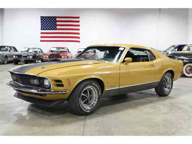 1970 Ford Mustang Mach 1 | 1012533