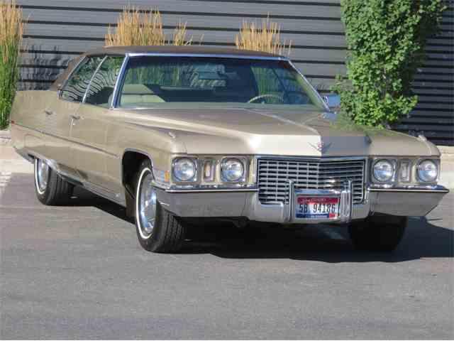 1972 Cadillac Sedan DeVille | 1012688