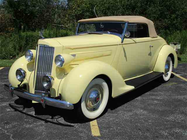 1937 Packard Fifteenth Series Convertible Coupe | 1012748