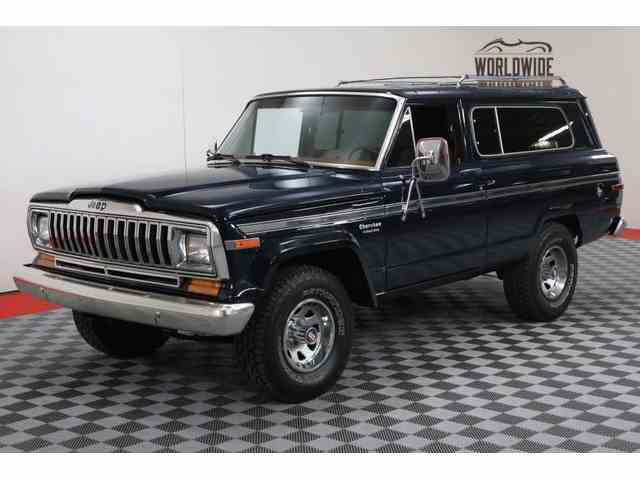 Classic Jeep Cherokee for Sale on ClassicCars.com - 28 ...