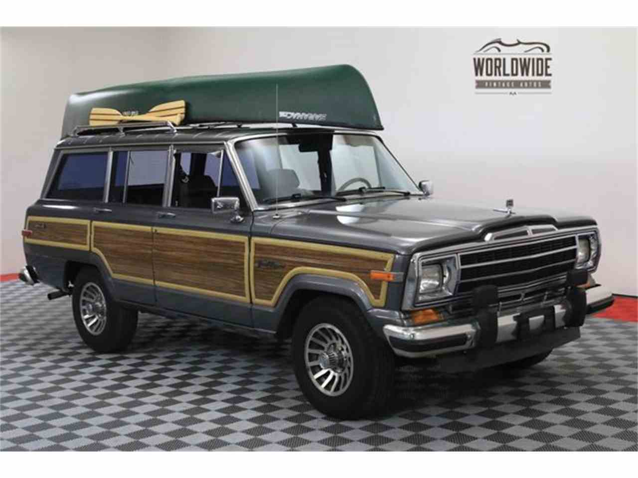 1988 jeep grand wagoneer for sale cc 1012918. Black Bedroom Furniture Sets. Home Design Ideas