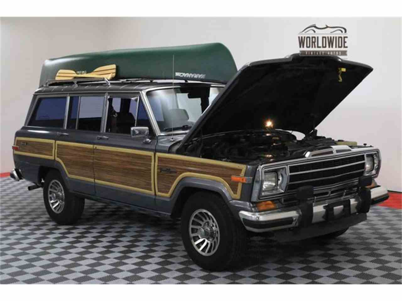 1988 Jeep Grand Wagoneer For Sale Classiccars Com Cc