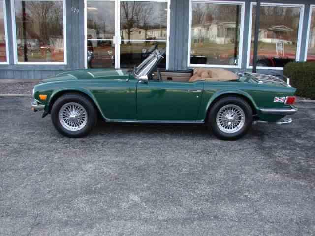1976 Triumph TR6   1012957
