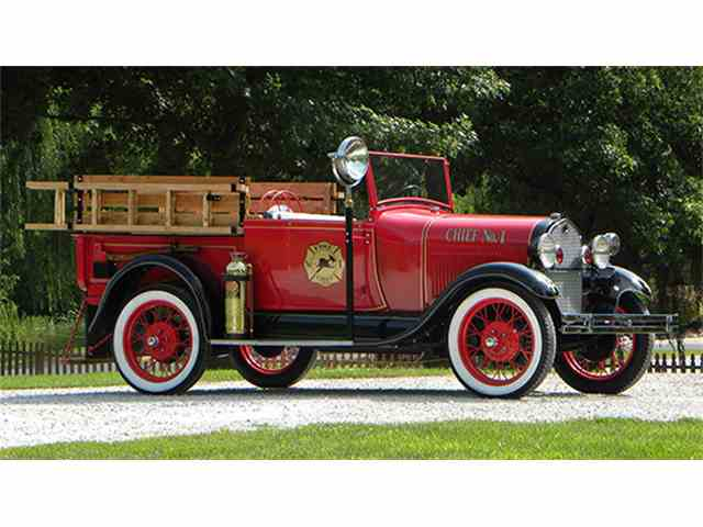 1929 Ford Model A Fire Chief Rapster Truck | 1013017