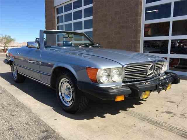 1985 mercedes benz 380sl for sale on for Buy old mercedes benz