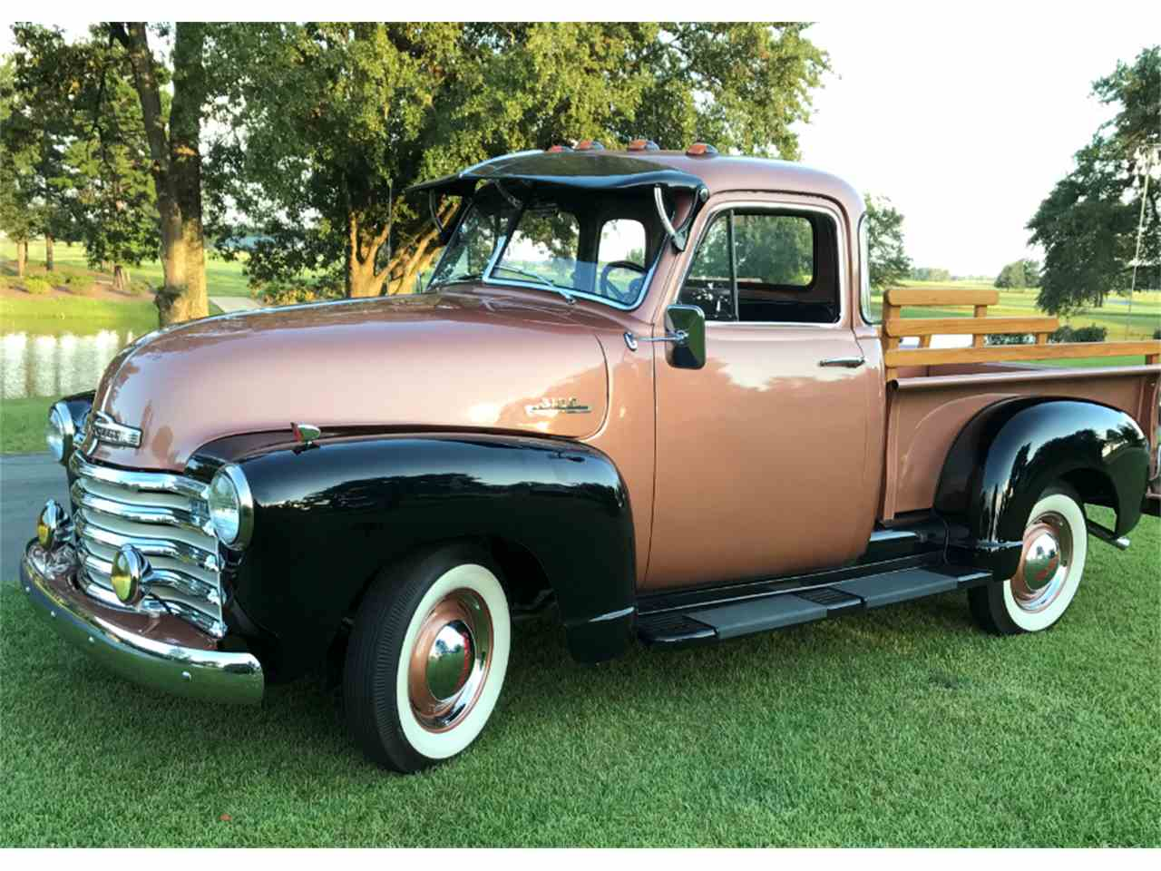 1953 chevrolet 5 window pickup for sale cc 1013256. Black Bedroom Furniture Sets. Home Design Ideas