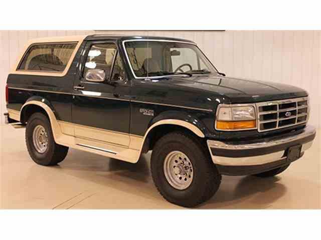 1992 Ford Eddie Bauer Bronco 4x4 | 1013329