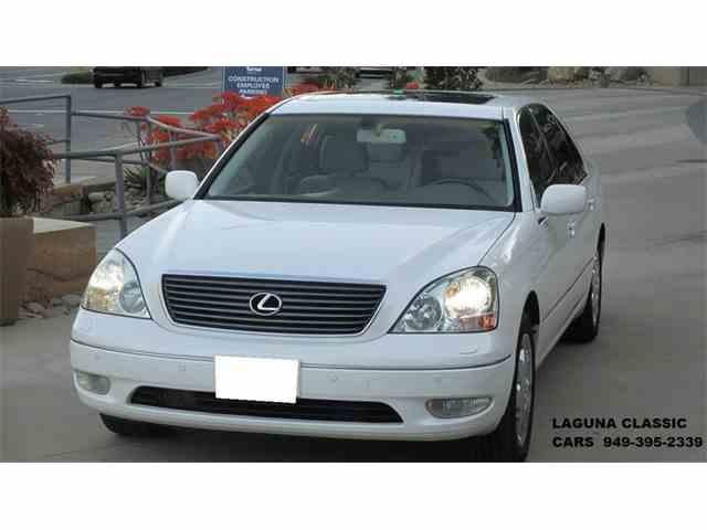 2002 Lexus LS430 | 1013523