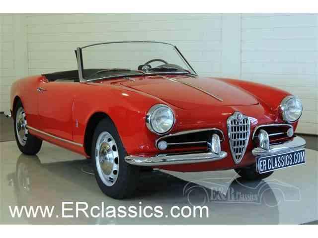 1956 Alfa Romeo Giulietta Spider | 1010372