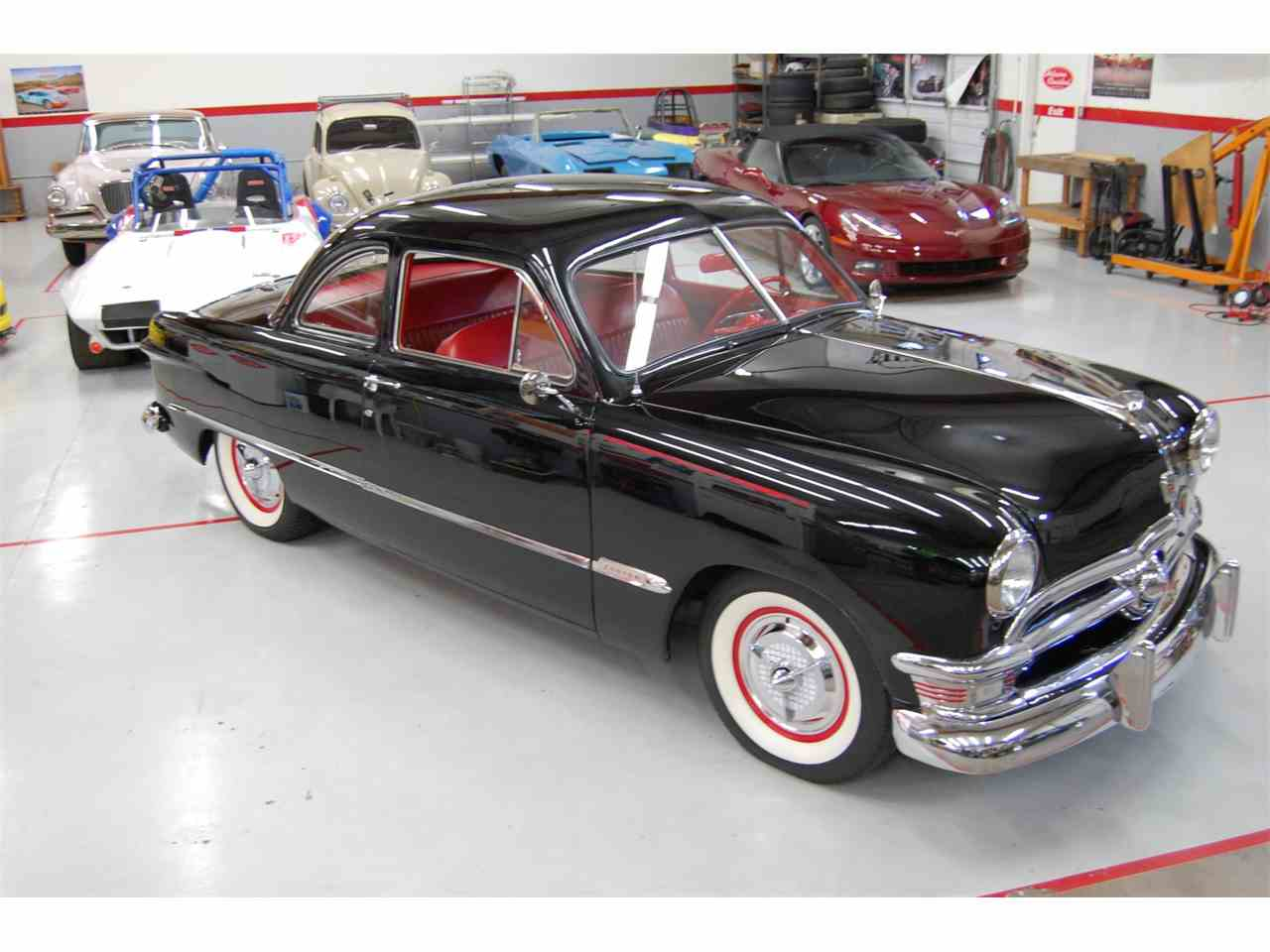 1950 ford club coupe custom for sale cc 1014226. Black Bedroom Furniture Sets. Home Design Ideas