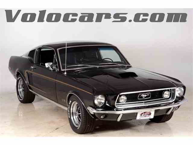 1968 Ford Mustang GT R-Code | 1014322